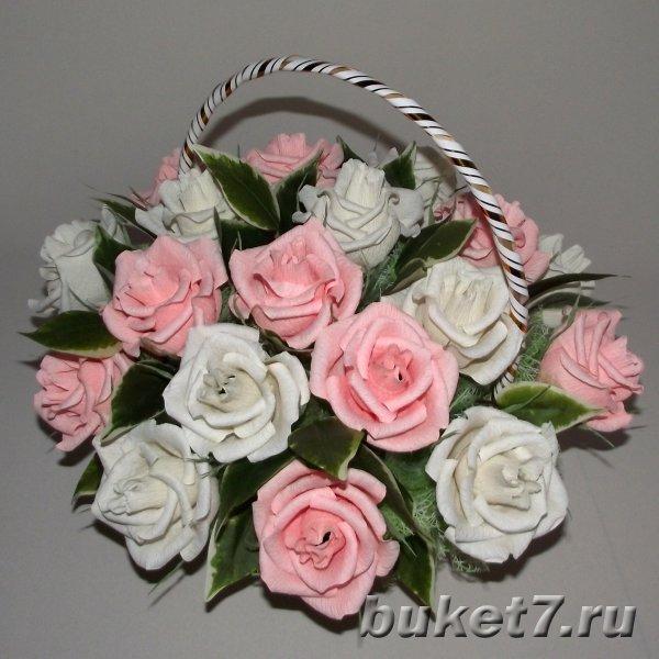 Букет из конфет из роз