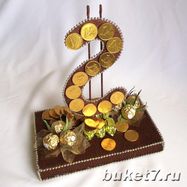 Доллар Букеты и композиции из конфет в г. Чебоксары