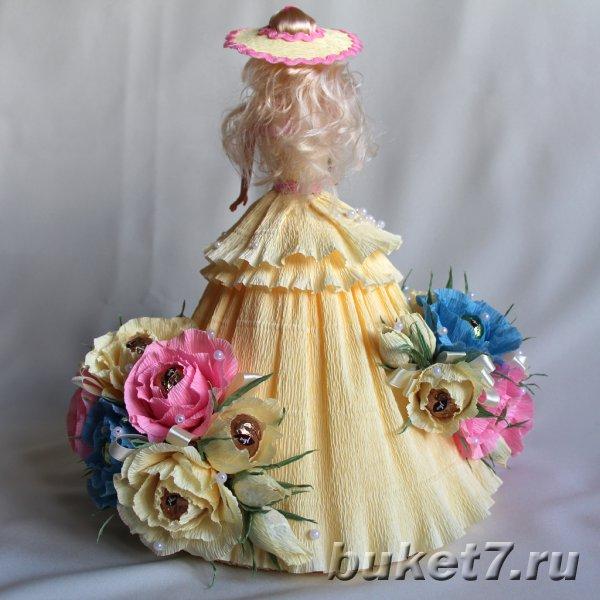 Куклы с конфетами своими руками фото