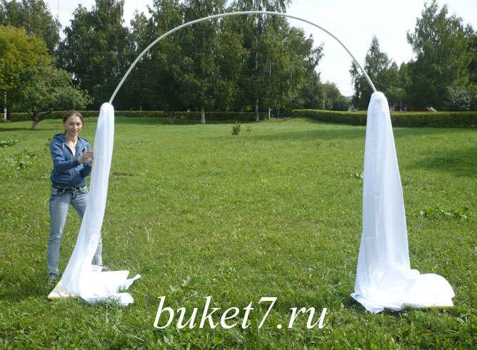 Сделать свадебный арку