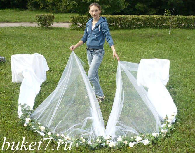 Мастер-класс как сделать свадебную арку своими руками
