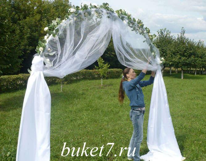 свадебная арка своим руками пошаговая инструкция