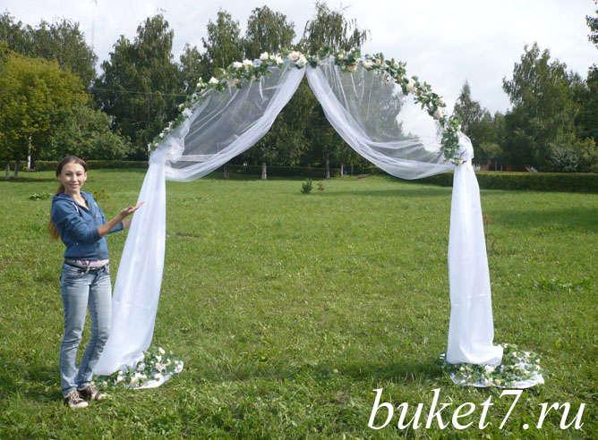 Как самой сделать арку на свадьбу 36