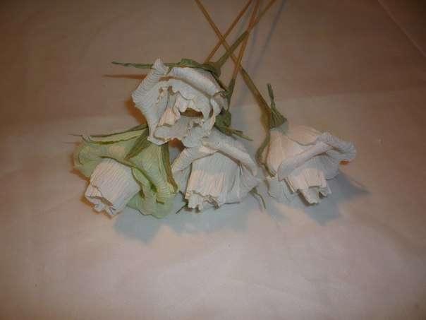 Чайно-конфетный букет МК фото 6