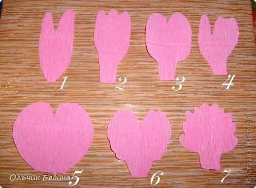 Пионы из конфет гофрированной бумаги своими руками