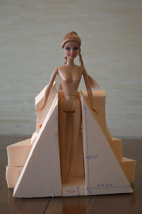 Кукла и конфеты своими руками 393