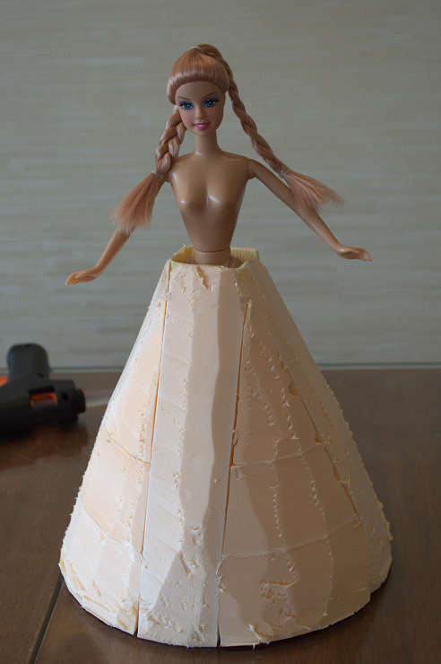 Кукла и конфеты своими руками 106