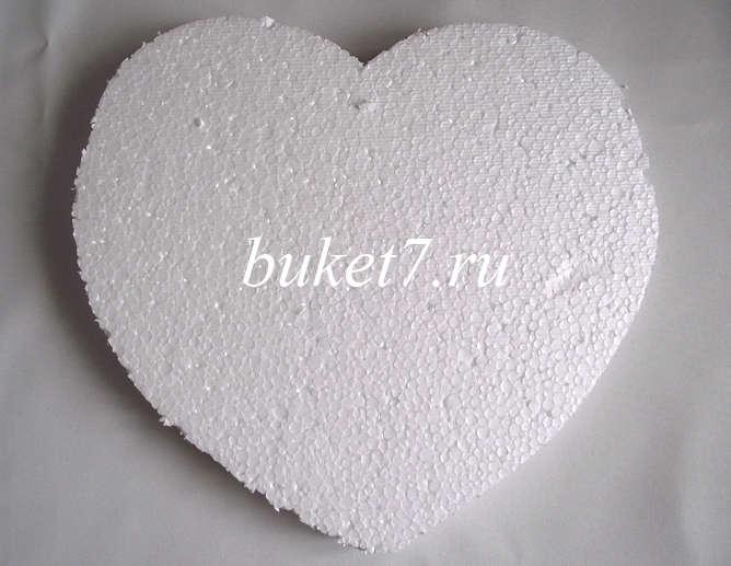 Сердце из конфет Фото МК Шаг 1