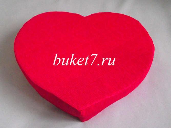 Сердце из конфет Фото МК Шаг 10