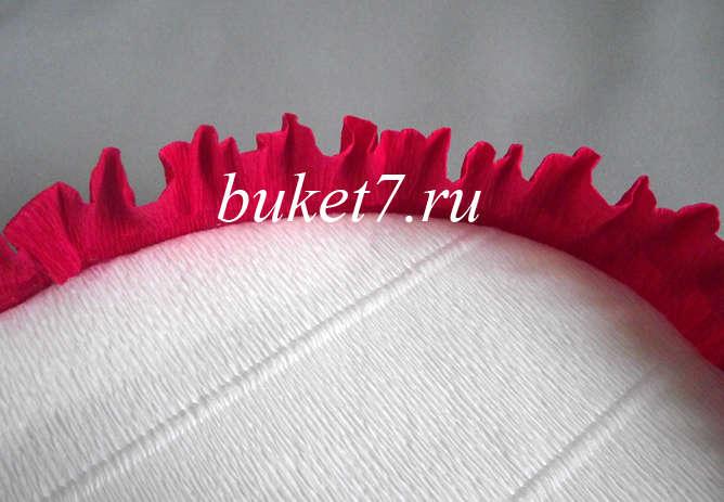 Сердце из конфет Фото МК Шаг 16