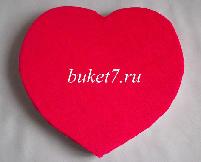 Сердце из конфет МК4