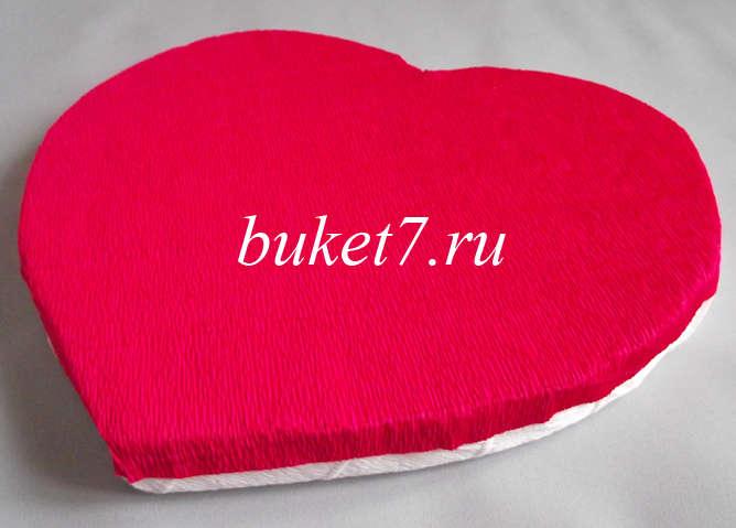 Сердце из конфет Фото МК Шаг 6