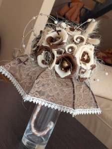 Фото 3. Зонтик из конфет