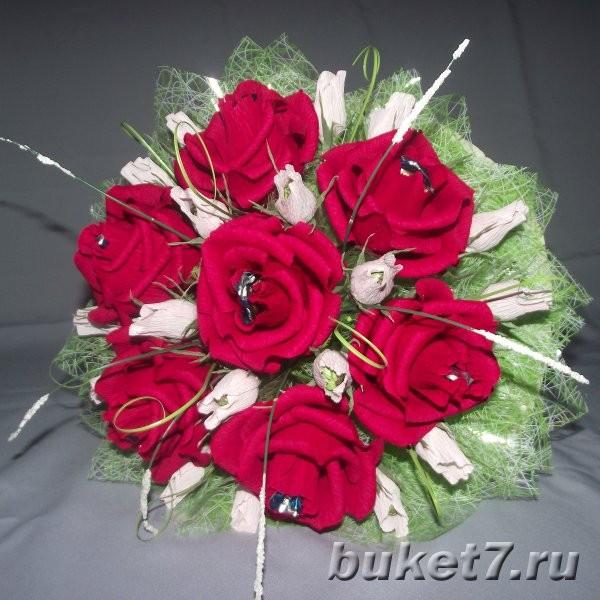 Букеты из конфет чебоксары заказать голубые розы купить спб